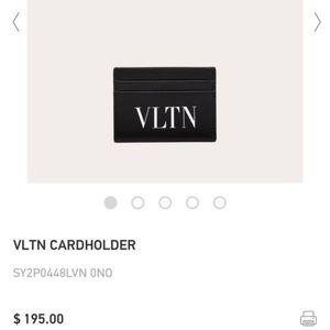 Unisex card wallet.